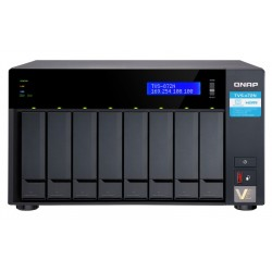8-Bay NAS, Intel® Core™ i3-8100T 4-core 3.1 Ghz