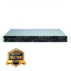 Server Rack 1U Platinum Fuente Redundante 400W