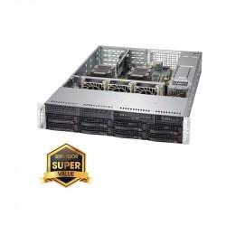Server Rack 2U Platinum Fuente redundante 800W