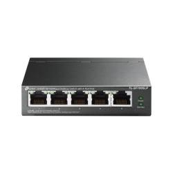 5-port 10 100 Mbps desktop Switch with 4-port poe