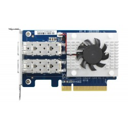 Dual-port SFP+ 10GbE network expansion card.