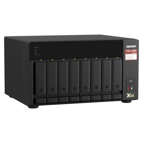8-bay NAS, AMD Ryzen V1000 series V1500B 4C 8T